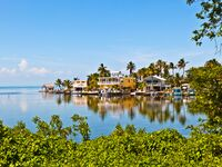 florida keys houses on the water