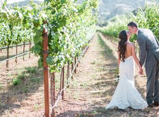 Every year, The Knot plans one lucky couple's Dream Wedding. This year, we threw Samantha Carsick (29 and an interior designer) and Taylor Sinclair (2