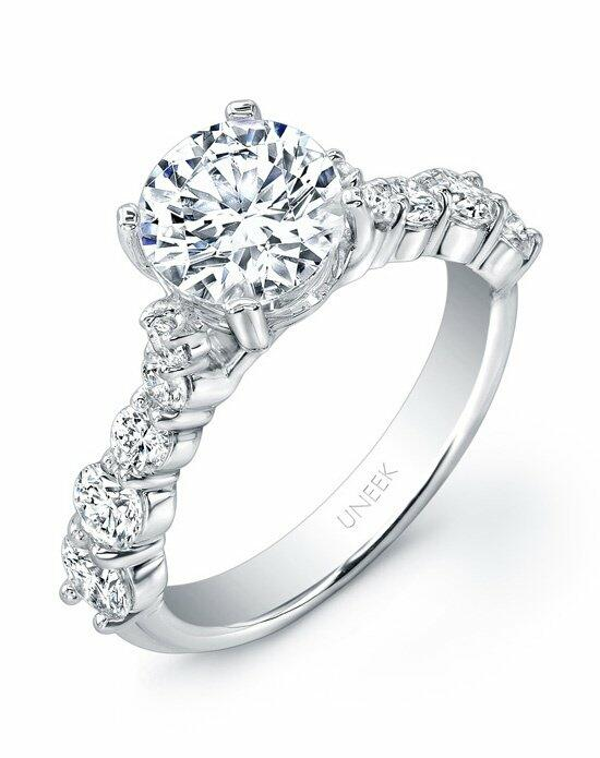 Uneek Fine Jewelry USM06-7.5RD Engagement Ring photo