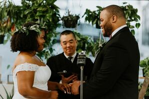 Wedding Vows at Succulent Native in Austin, Texas