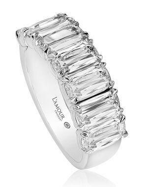 Christopher Designs L129-7-250 White Gold Wedding Ring