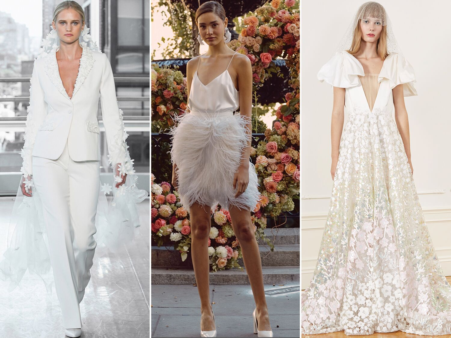 The Wedding Dress Trends 2020 2021 Brides Need To See,Summer Casual Beach Wedding Dresses