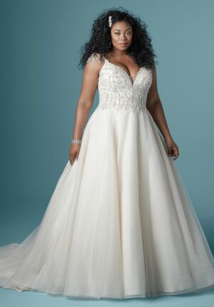Maggie Sottero ZANDRINA A-Line Wedding Dress