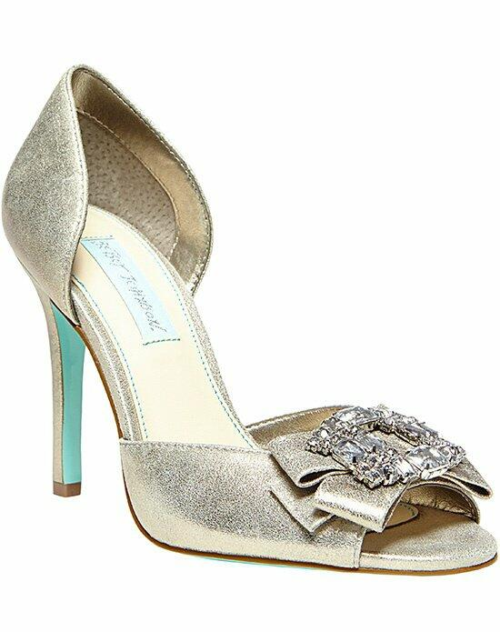 Blue by Betsey Johnson SB-Glam- SIlver Wedding Shoes photo