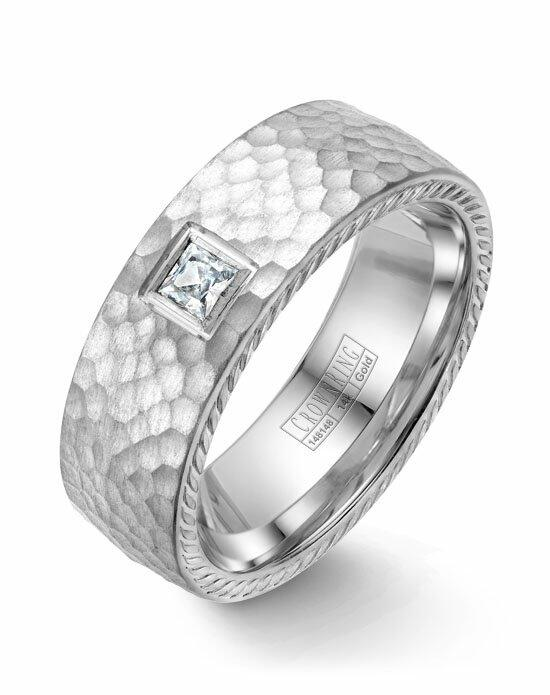CrownRing WB-021RD8W-M10 Wedding Ring photo