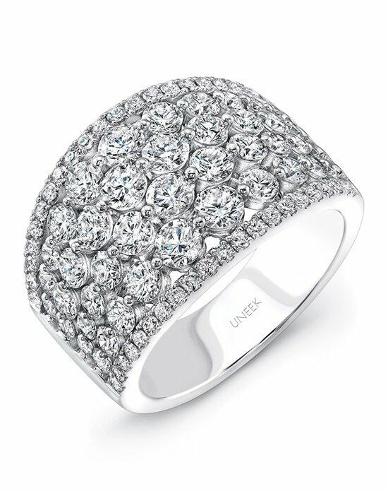 Uneek Fine Jewelry The Frivolite Cluster Diamond Band/LVBW220W Wedding Ring photo