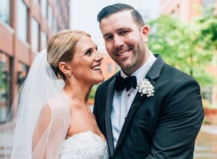 Kayliegh McEachern (27 and a clinical study coordinator) and Paul McEachern's (31 and a project manager and estimator) wedding was all about timeless