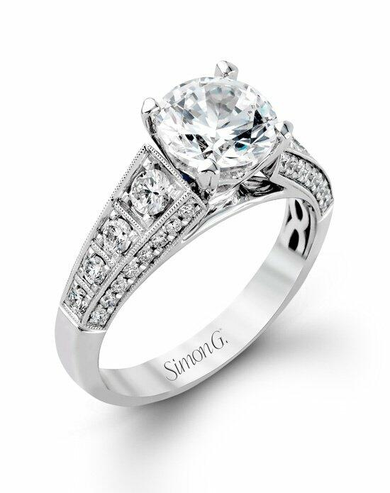 Simon G. Jewelry MR2149 Engagement Ring photo