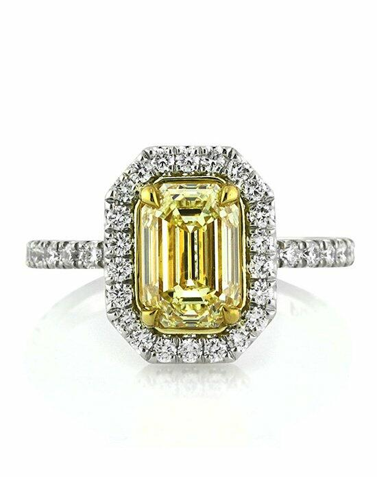 Mark Broumand 2.37ct Fancy Yellow Emerald Cut Diamond Engagement Ring Engagement Ring photo