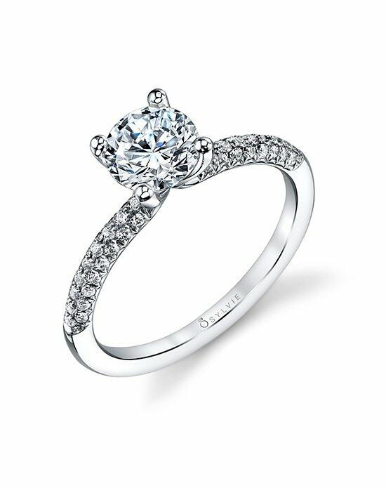 Sylvie Collection S1147 Engagement Ring photo