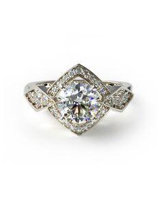 James Allen Vintage Princess, Asscher, Cushion, Round Cut Engagement Ring
