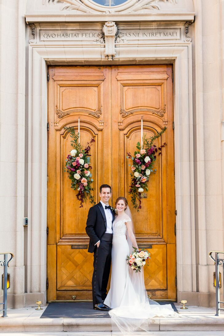 Wedding Portraits at The Meridian House in Washington, D.C.
