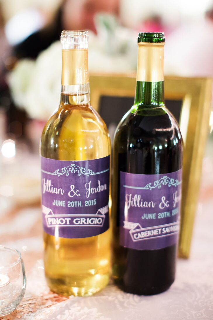 Personalized Red and White Table Wine
