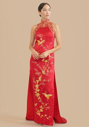East Meets Dress Lea Bespoke Dress Sheath Wedding Dress