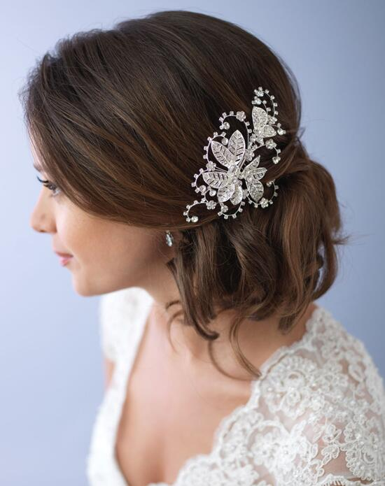 USABride Camila Floral Bridal Comb TC-2281 Wedding Pins, Combs + Clips photo