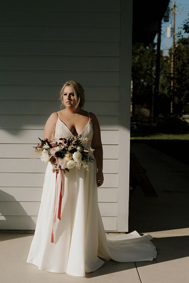 Bridal Portraits at The Space HTX in Houston, Texas