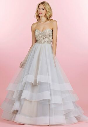Hayley Paige 6453/Josie Ball Gown Wedding Dress