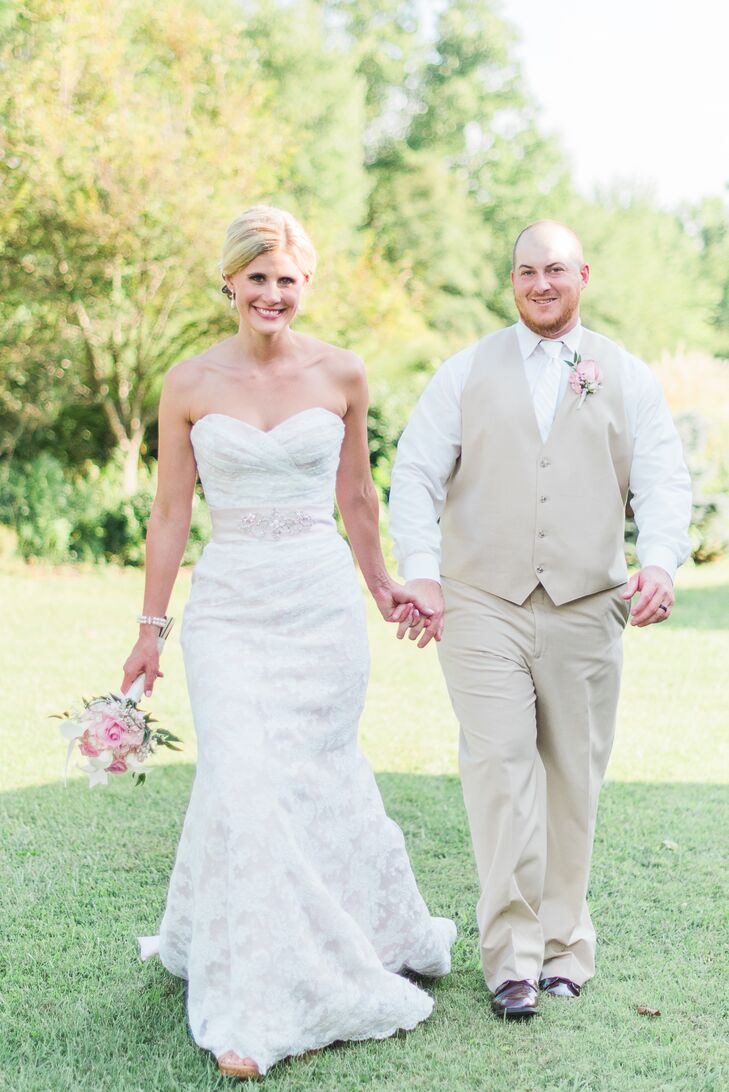 Ashley (30 and a registered nurse) and Joseph Mullen (32 and a college ice hockey coach and a landscaper) dated for two years in