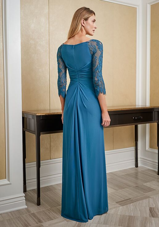 Jade Mother of the Bride by Jasmine J225010 Black,Blue,Brown,Champagne,Gray,Green,Pink,Purple,Red,Silver Mother Of The Bride Dress