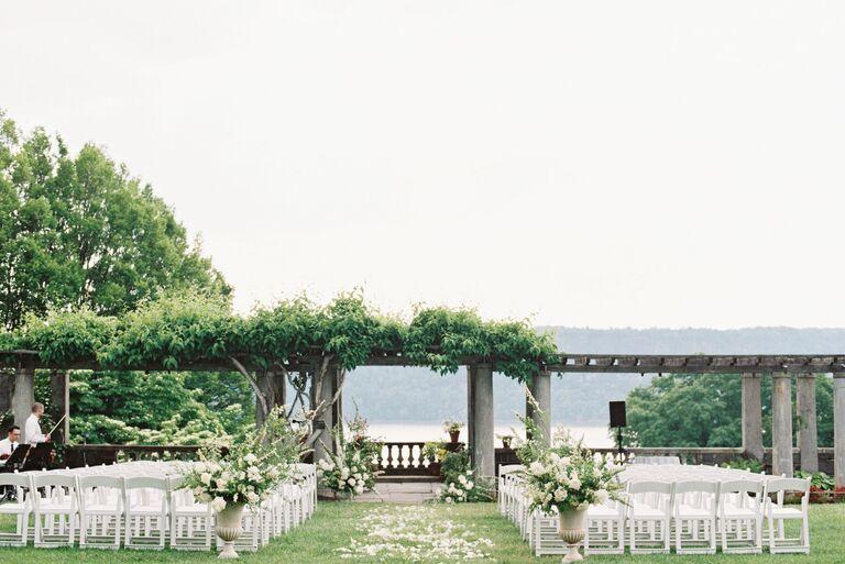Outdoor Wedding Venues Wave Hill