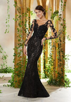 MGNY 71929 Black,Champagne Mother Of The Bride Dress
