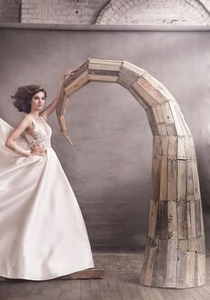 Lazaro 3658 Ball Gown Wedding Dress