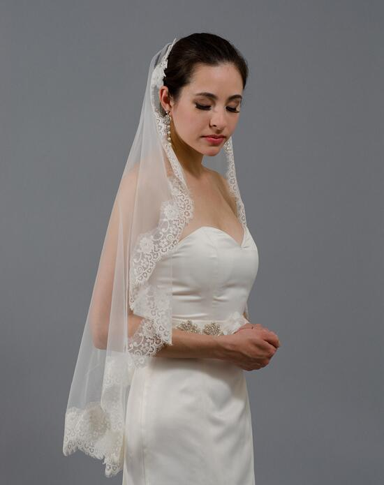 Tulip Bridal Lace Mantilla Veil-V026 Wedding Veils photo