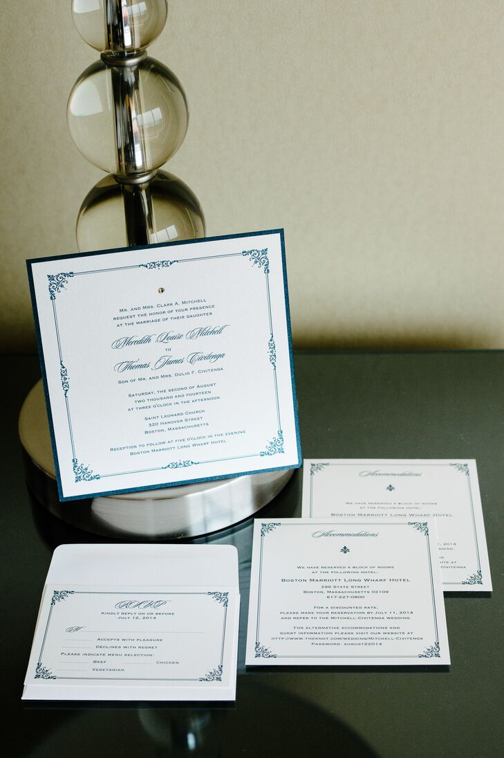 Elegant, Formal Wedding Invitations