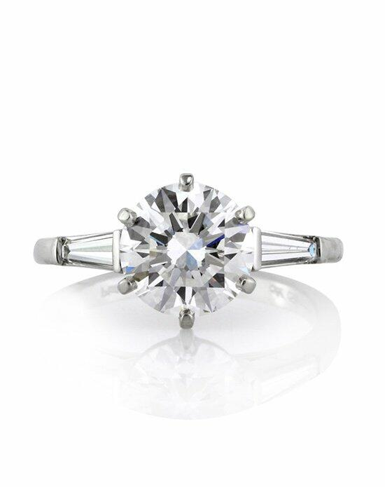 Mark Broumand 2.65ct Round Brilliant Cut Diamond Three-Stone Engagement Ring Engagement Ring photo