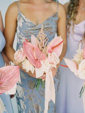 Anthurium Wedding Bouquets for California Wedding