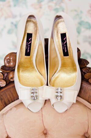 White Nina Bridal Shoes