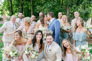Wedding Party Portraits at Saddle Wood Farms in Murfreesboro, Tennessee