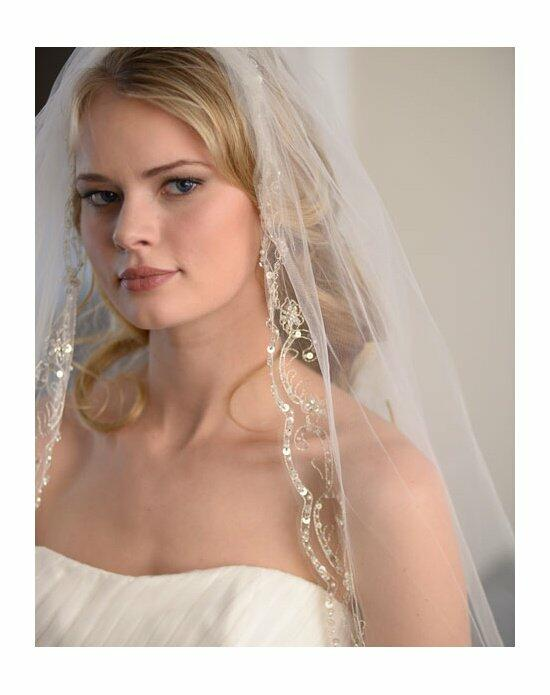 USABride 1-Layer, Extravagance Beaded Cathedral Veil VB-5035 Wedding Veils photo