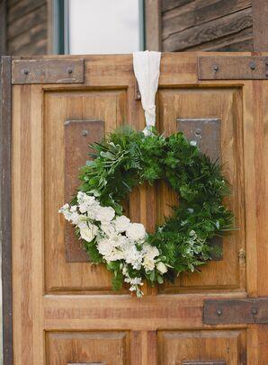 Rustic Green Wreath Decor