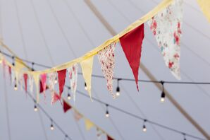 Colorful Hand-Sewn Bunting