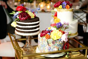 Thank-You Gift Cakes to Newlyweds' Parents