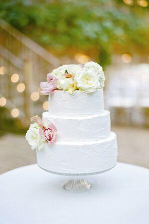 Three-Tiered White Cake