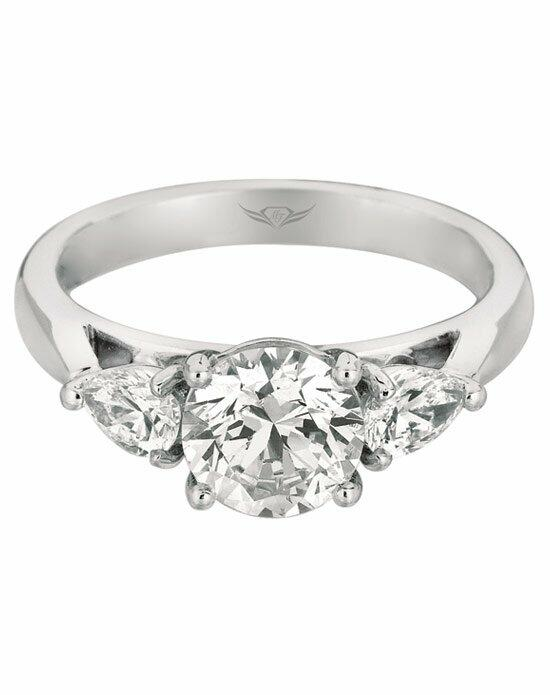 FlyerFit by Martin Flyer CT03SPSQ-C-7.0RD Engagement Ring photo