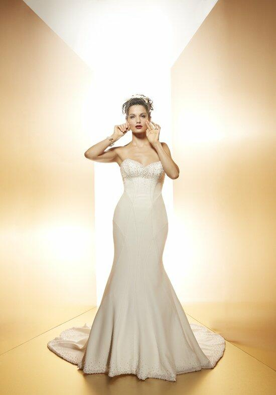 Matthew Christopher Chanel Wedding Dress photo