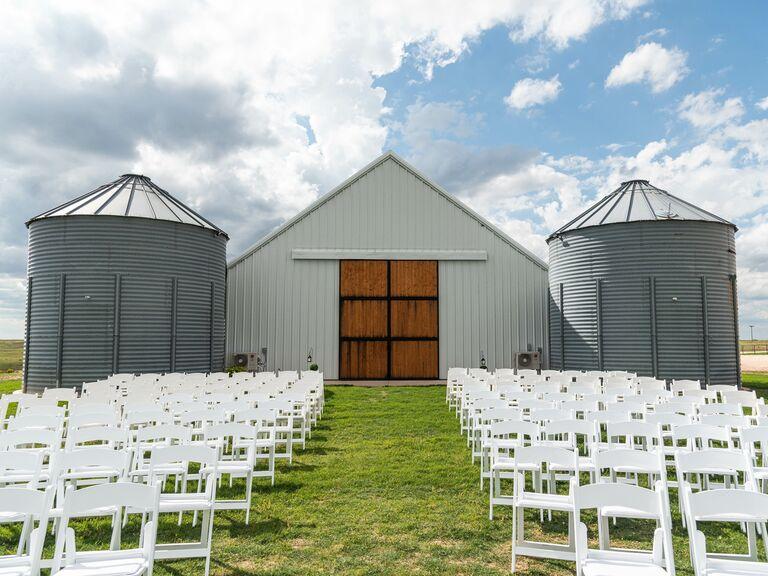 Wedding venue in Pampa, Texas.