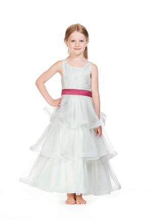 Bari Jay Flower Girls F0418 Ivory Flower Girl Dress