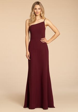 Hayley Paige Occasions 5962 One Shoulder Bridesmaid Dress
