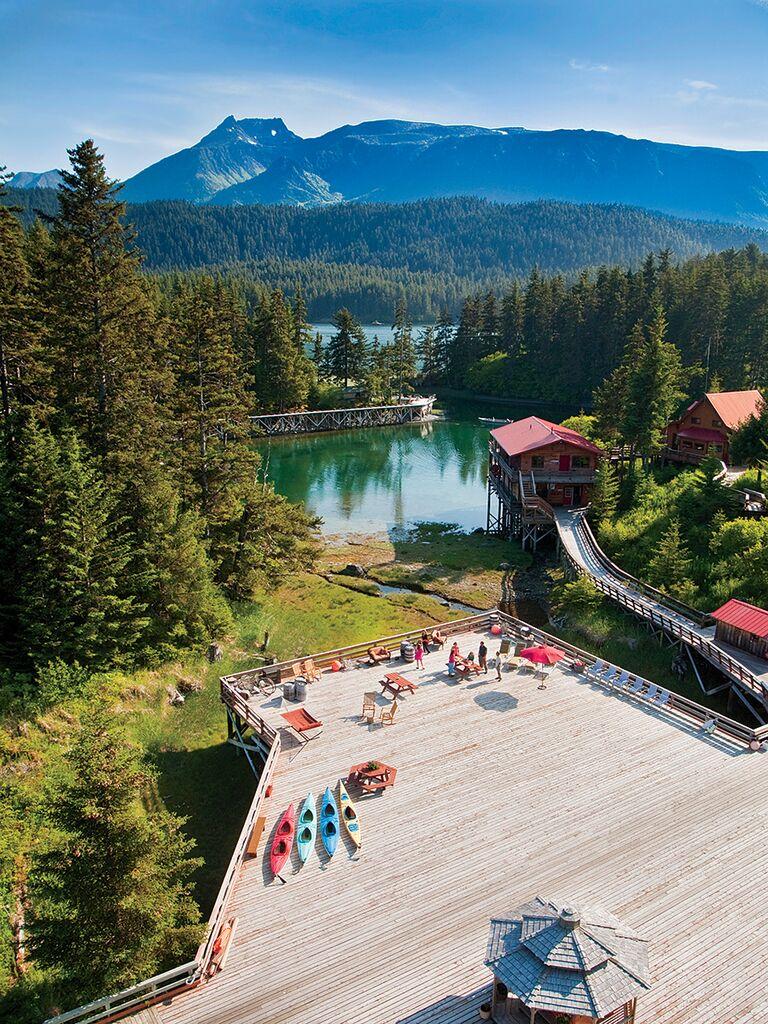 Tutka Bay Lodge, Alaska honeymoon idea
