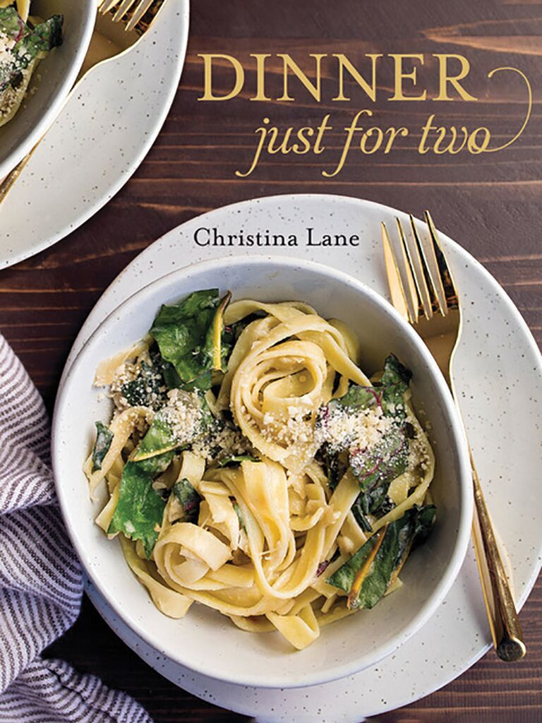 Dinner just for two cookbook cover