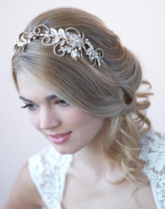USABride Gold Swirl & Leaf Headband Wedding Headbands photo