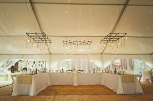 An Elegant, Tented Reception in Tincup, Colorado
