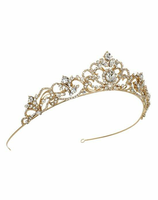 USABride Elizabeth Rhinestone Crown TI-3157-G Wedding Tiaras photo