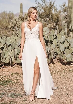 Lillian West 66154 A-Line Wedding Dress