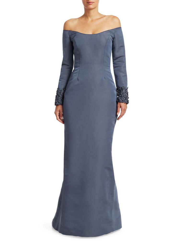 Catherine Regehr Oriel embellished gown