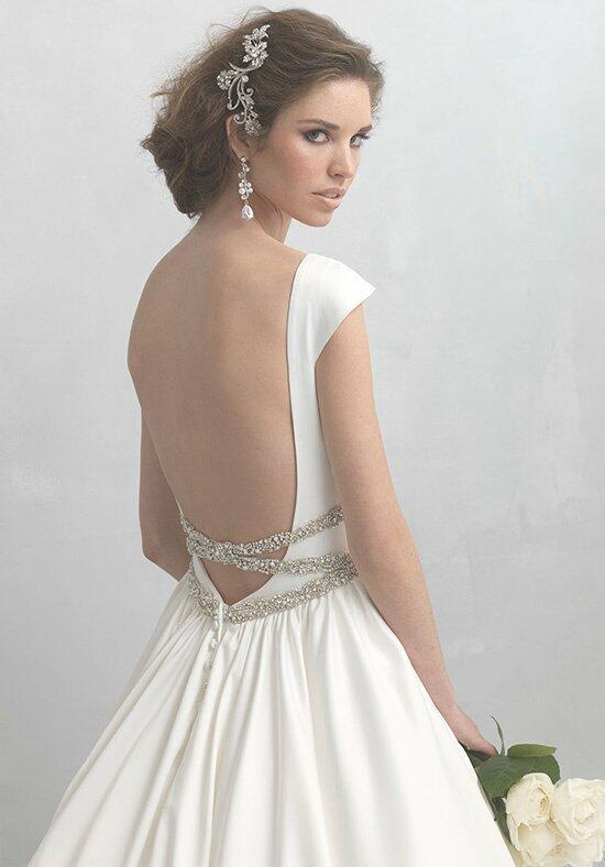 Madison james mj165 wedding dress the knot for Madison james wedding dresses